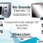 Viernes y sábado venta de productos directos de Renacer en Río Grande