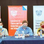 Melella y representantes de ATE, ATSA y UPCN valoraron acuerdos