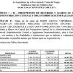 El Presupuesto 2022 Estiman es más de 126 mil millones de pesos