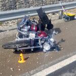 Motociclista falleció al chocar contra un auto cuando circulaban por la Ruta Nacional N°3