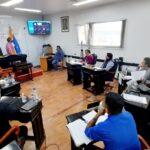López expuso ante los concejales los lineamientos generales del ejercicio financiero 2022